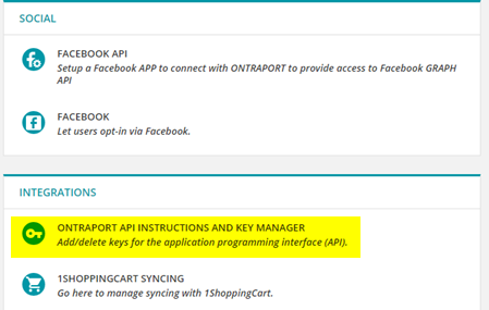 Contacts Api Knowledge Base Ontraport